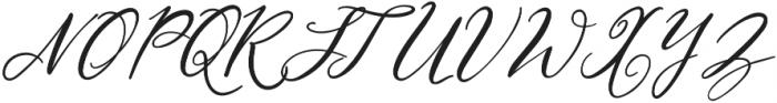 NF-Lukara otf (400) Font UPPERCASE