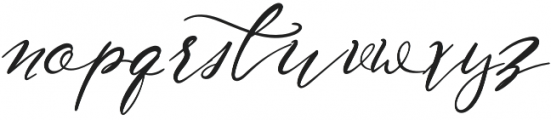 NF-Lukara otf (400) Font LOWERCASE