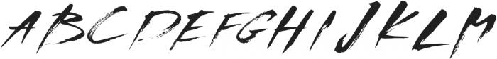 NF-Noix otf (400) Font UPPERCASE