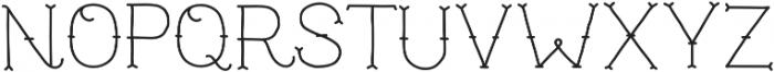 NF-TrueMama otf (400) Font UPPERCASE