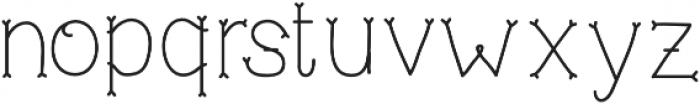 NF-TrueMama otf (400) Font LOWERCASE