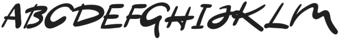 NF-farfelue otf (400) Font UPPERCASE