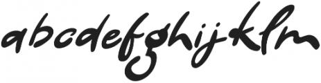 NF-farfelue otf (400) Font LOWERCASE