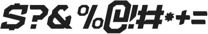 NFC Flipper otf (700) Font OTHER CHARS