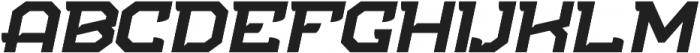 NFC Flipper otf (700) Font UPPERCASE