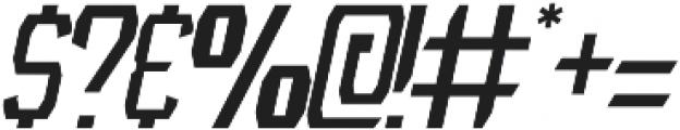 NFC Roshunt otf (400) Font OTHER CHARS