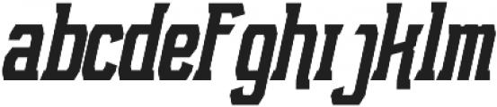NFC Roshunt otf (700) Font LOWERCASE
