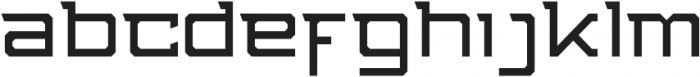 NFC Stunner [ Style 4 ] otf (400) Font LOWERCASE