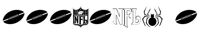 NFL Jaguars Font OTHER CHARS