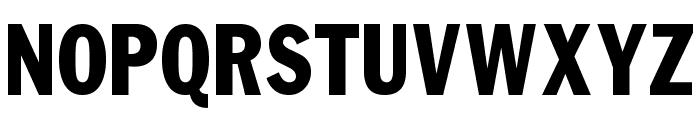NFL Varsity Block E Font UPPERCASE