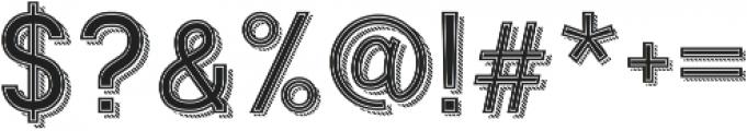 Ngopi Doken InlineShadow otf (400) Font OTHER CHARS