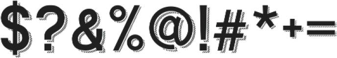 Ngopi Doken Shadow otf (400) Font OTHER CHARS