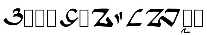 Ngalagena Font UPPERCASE