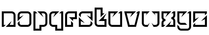 Ngking Regular Font LOWERCASE