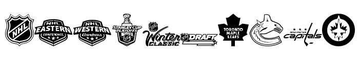 NHL Font OTHER CHARS