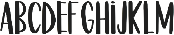 NI Fish Taco Regular otf (400) Font LOWERCASE