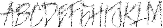 NIGHTMARE otf (400) Font UPPERCASE