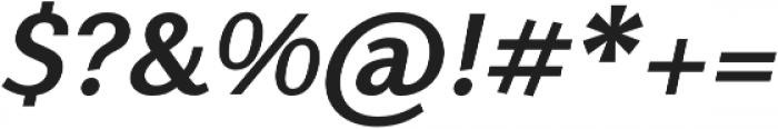 Nic BoldItalic otf (700) Font OTHER CHARS