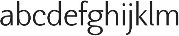 Nic Light otf (300) Font LOWERCASE