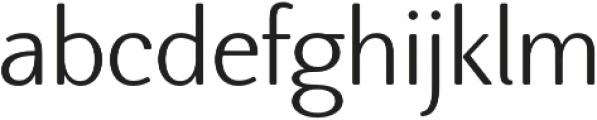 Nic LightRounded otf (300) Font LOWERCASE
