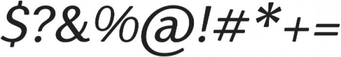Nic MediumItalicRounded otf (500) Font OTHER CHARS