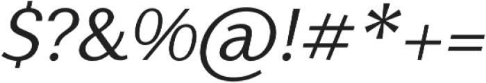 Nic NormalItalic otf (400) Font OTHER CHARS