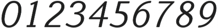 Nic NormalItalicRounded otf (400) Font OTHER CHARS