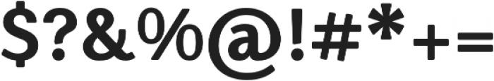 Nic XBoldRounded otf (700) Font OTHER CHARS