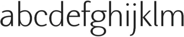 Nic XLight otf (300) Font LOWERCASE