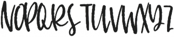 Nickely Regular otf (400) Font UPPERCASE