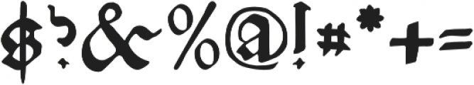 NicolausKesler otf (400) Font OTHER CHARS