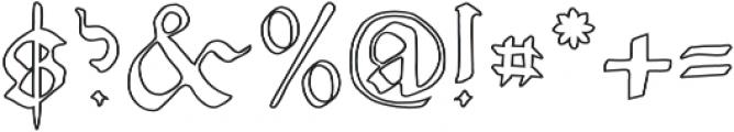 NicolausKeslervoid otf (400) Font OTHER CHARS