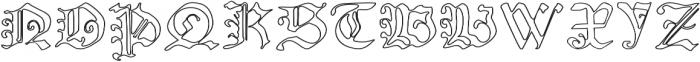NicolausKeslervoid otf (400) Font UPPERCASE