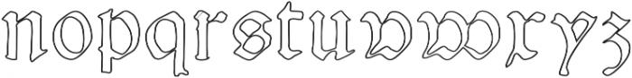 NicolausKeslervoid otf (400) Font LOWERCASE