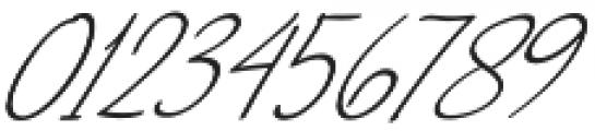 NicoleWhite Jilid 2 Slanted otf (400) Font OTHER CHARS