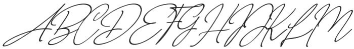 NicoleWhite Jilid 2 Slanted otf (400) Font UPPERCASE