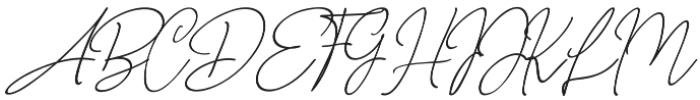 NicoleWhite Jilid 2 otf (400) Font UPPERCASE