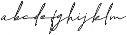 NicoleWhite Jilid 2 otf (400) Font LOWERCASE