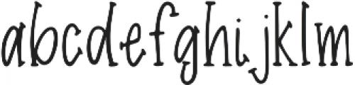 Nicolet otf (400) Font LOWERCASE