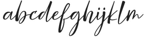Nicolette Script otf (400) Font LOWERCASE