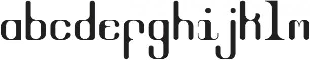 NicotineSpecialX Regular otf (400) Font LOWERCASE