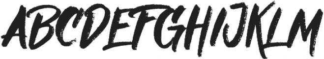 Nielsen Rough otf (400) Font UPPERCASE