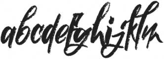 Nielsen Rough otf (400) Font LOWERCASE