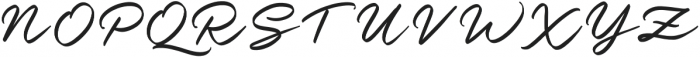 Nielson otf (400) Font UPPERCASE