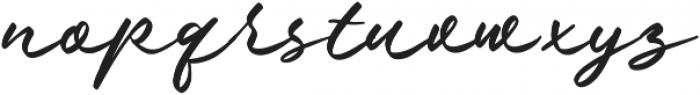 Nielson otf (400) Font LOWERCASE