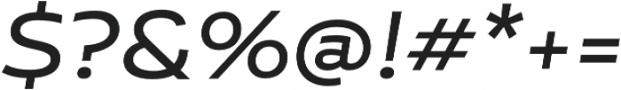 Niemeyer Regular It otf (400) Font OTHER CHARS