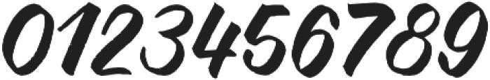 NightBrush otf (400) Font OTHER CHARS