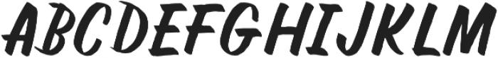 NightBrush otf (400) Font UPPERCASE