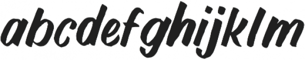 NightBrush otf (400) Font LOWERCASE