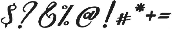 Nightcall Bold Regular otf (700) Font OTHER CHARS
